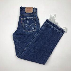 Vintage LEVI'S 550 Custom High Rise Jeans Size 23